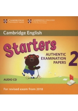 Cambridge English Starters 2 Audio CD