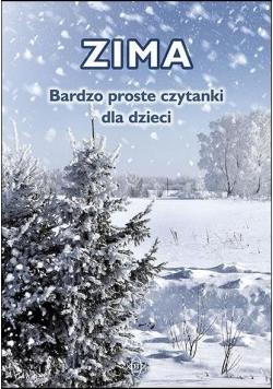 Bardzo proste czytanki dla dzieci - ZIMA