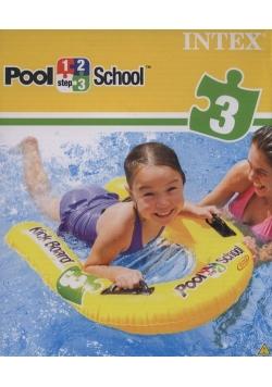 Deseczka do nauki pływania Pool School 84 cm
