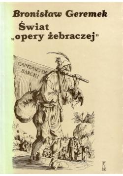 """Świat """"opery żebraczej"""". Obraz włóczęgów i nędzarzy w literaturach europejskich XV-XVII wieku"""