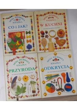 Moja pierwsza książka, zestaw 4 książek