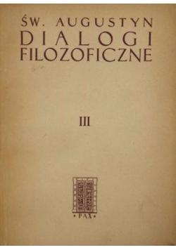 Dialogi filozoficzne Tom III