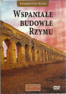 Wspaniałe budowle Rzymu , płyta DVD