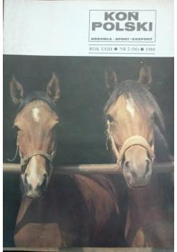 Koń Polski, nr. 2 (96), 1988r.