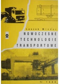 Nowoczesne technologie transportowe. Tom I