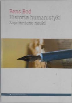Historia humanistyki. Zapomniane nauki