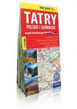Euromapa Tatry polskie i słowackie 1:55 000
