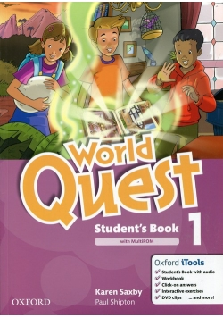 World Quest 1 Student's Book with MultiROM