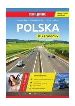 Polska atlas drogowy Europilot 1:400 000