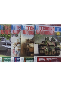 Nowa technika wojskowa, zestaw 4 czasopism