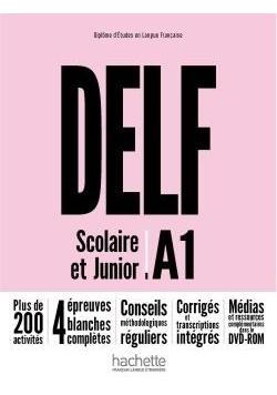 DELF A1 Scolaire & Junior NE podręcznik +DVD-Rom