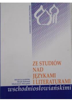 Ze studiów nad językami i literaturami wschodiosłowiańskimi