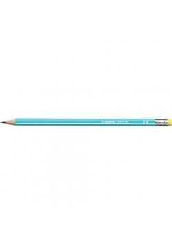 Ołówek 160 z gumką HB niebieski (12szt) STABILO