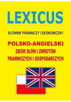 LEXICUS Słownik prawniczy i ekonomiczny pol-ang
