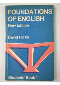 Foundations of English. Student's ' Book 1