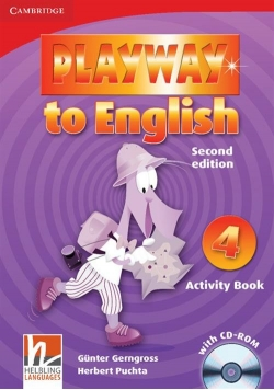 Playway to English 4 Activity Book + CD
