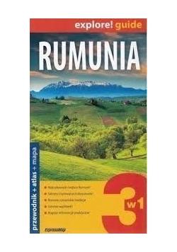 Rumunia explore! guide+mapa