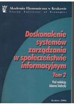 Doskonalenie systemów zarządzania w społeczeństwie informacyjnym ,tom2