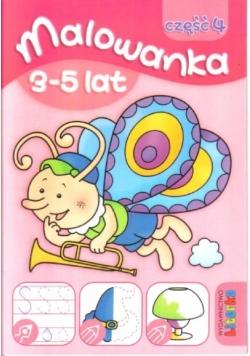Malowanka 3-5 lat cz. 4 LITERKA