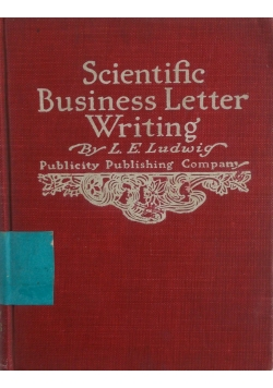 Scientific business  letter  writing, 1905
