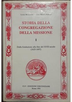 Storia della congregazione della missione