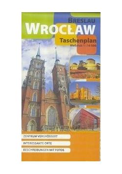 Plan kieszonkowy - Wrocław w. niemiecka 1:16 500