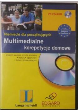 Niemiecki dla początkujących. Multimedialne korepetycje dla początkujących CD