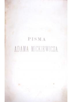 Kurs czwartoletni (1843-1844) literatury Sławiańskiej, 1858 r.