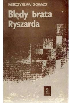 Błędy brata Ryszarda