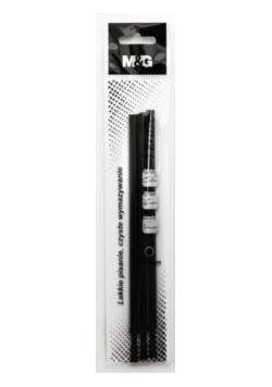 Wkład do usuwalnego długopisu czarny (3szt) M&G