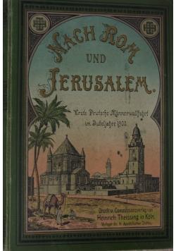 Nach Rom und Jerusalem, 1902 r.