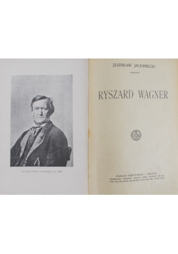 Ryszard Wagner, 1922r