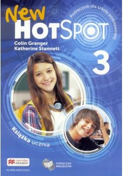 Hot Spot New 3 SB MACMILLAN podręcznik wieloletni