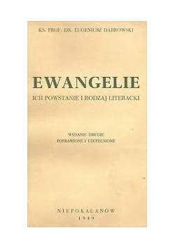 Ewangelie ich powstanie i rodzaj literacki, 1949 r.