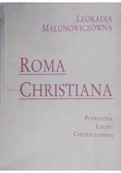 Roma Christiana. Podręcznik łaciny chrześcijańskiej