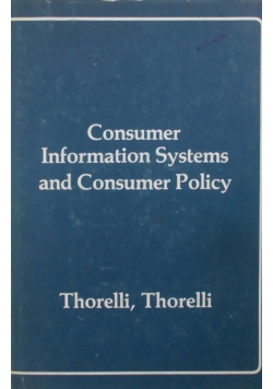 Consumer Information Systems