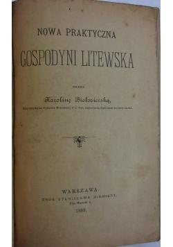 Nowa praktyczna gospodyni Litewska, 1889r.