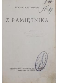 Z pamiętnika, 1931r.