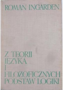 Z teorii języka i filozoficznych podstaw logiki