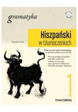 Hiszpański w tłumaczeniach. Gramatyka 1 + CD