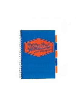 Project Book Neon A4/100 kr niebieski (3szt) PUKKA