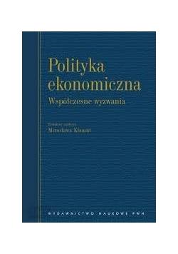 Polityka ekonomiczna, współczesne wyzwania, Nowa