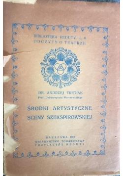 Środki artystyczne sceny szekspirowskiej, 1925 r.