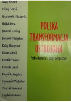 Polska transformacja ustrojowa