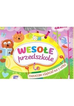 Wesołe przedszkole. Edukac. książeczki dla 5-latka