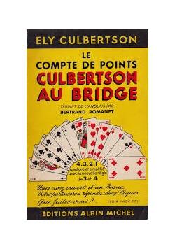Le Compte de Points Culbertson au Bridge