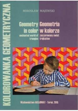 Geometria w kolorze: zaczarowany świat trójkątów