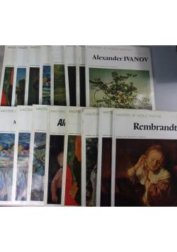 Masters of worls painting, Zestaw 16 książek