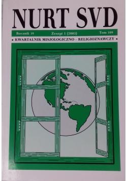 Nurt SVD, zeszyt 1 (2005), tom 109