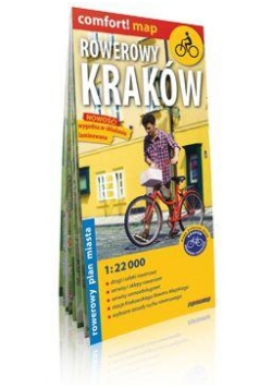 Comfort!map Rowerowy Kraków 1:22 000 plan miasta
